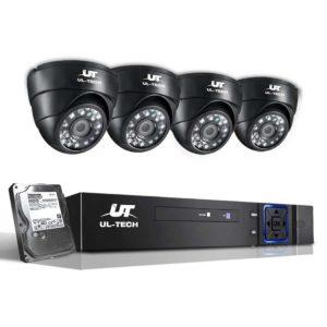 CCTV 4C 4D BK 2T 00 300x300 - UL-Tech CCTV Security System 2TB 4CH DVR 1080P 4 Camera Sets