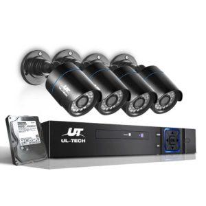 CCTV 8C 4B BK 2T 00 300x300 - UL-Tech CCTV Security System 2TB 8CH DVR 1080P 4 Camera Sets