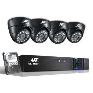 CCTV 8C 4D BK 2T 00 300x300 - UL-Tech CCTV Security System 2TB 8CH DVR 1080P 4 Camera Sets