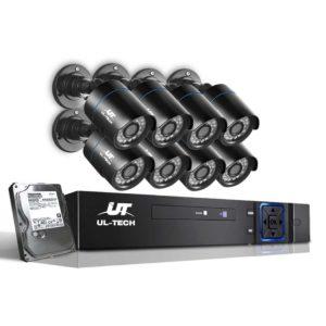 CCTV 8C 8B BK T 00 300x300 - UL Tech 1080P 8 Channel HDMI CCTV Security Camera with 1TB Hard Drive