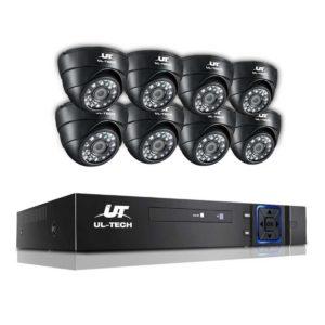 CCTV 8C 8D BK 00 300x300 - UL Tech 1080P 8 Channel HDMI CCTV Security Camera