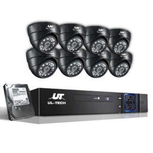 CCTV 8C 8D BK T 00 300x300 - UL Tech 1080P 8 Channel HDMI CCTV Security Camera with 1TB Hard Drive