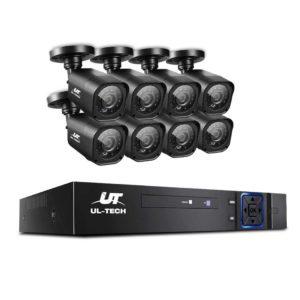 cctv 8c 8s bk 00 300x300 - UL-TECH 8CH 5 IN 1 DVR CCTV Security System Video Recorder /w 8 Cameras 1080P HDMI Black