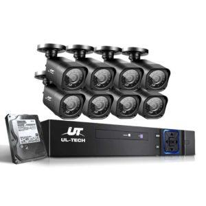 CCTV 8C 8S BK 2T 00 300x300 - UL-Tech CCTV Security System 2TB 8CH DVR 1080P 8 Camera Sets