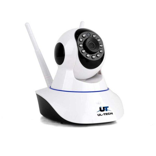 CC WL IP 00 600x600 - UL Tech 1080P IP Wireless Camera - White