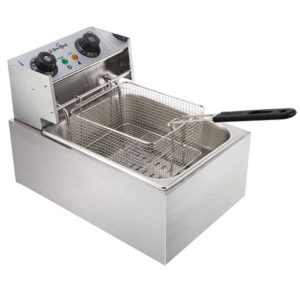 cdf d4c single 00 300x300 - 5 Star Chef Commercial Electric Single Deep Fryer - Silver