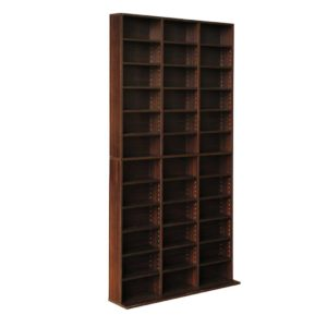 cd shelf es ab 00 300x300 - Artiss Adjustable Book Storage Shelf Rack Unit - Expresso