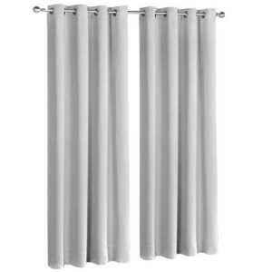 CURTAIN 240 LG X2 00 300x300 - Art Queen 2 Panel 240 x 230cm Block Out Curtains - Light Grey