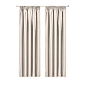 CURTAIN HOOK D213X240 SD 00 300x300 - Art Queen 2 Pencil Pleat 240x213cm Blockout Curtains - Sand