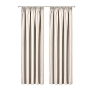 CURTAIN HOOK D230X300 SD 00 300x300 - Art Queen 2 Pencil Pleat 300x230cm Blockout Curtains - Sand