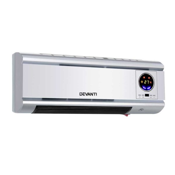 CWH 2000 GY 00 600x600 - Devanti 2000W Wall Mounted Panel Heater - Silver