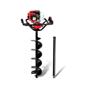 DI EE RDBK AUG200 00 300x300 - Giantz 88CC Petrol Post Hole Digger Drill Borer Fence Extension Auger Bits