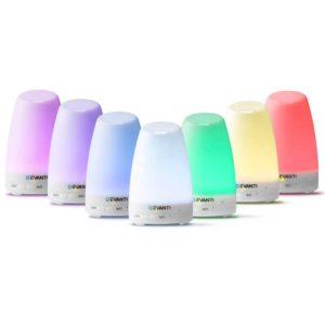 diff n16 wh 00 300x300 - Devanti 120ml 4 in 1 Aroma Diffuser - White