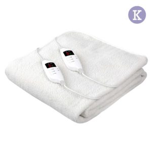 eb fl lcd k 00 300x300 - Giselle Bedding 9 Setting Fully Fitted Electric Blanket - King