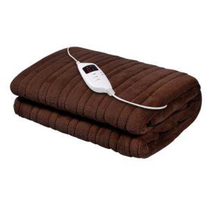 eb throw rug cbr 00 300x300 - Giselle Bedding Electric Throw Blanket - Chocolate