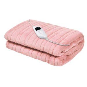 EB THROW RUG PK 00 300x300 - Giselle Bedding Heated Electric Throw Rug Fleece Sunggle Blanket Washable Pink