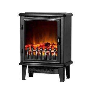 efl 1800 s bk 00 300x300 - Devanti Electric Fireplace Heater Portable Fire Log Wood Effect Single Door 1800W Black