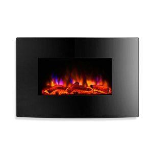 EFL B 159 2000 BK 00 300x300 - Devanti 2000W Wall Mounted Electric Fireplace Fire Log Wood Heater Realistic Flame