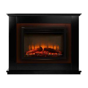 EFL B 2000 FRAME BK 00 300x300 - Devanti 2000W Electric Fireplace Mantle Portable Fire Log Wood Heater 3D Flame Effect Black