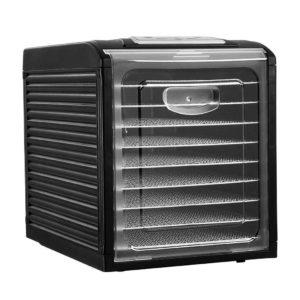 FD E 333H ST BK 00 300x300 - Devanti 9 Tray Food Dehydrators Commercial Beef Jerky Maker Fruit Dryer Black
