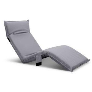 FLOOR OUT 0302 GY 00 300x300 - Artiss Adjustable Beach Sun Pool Lounger - Grey
