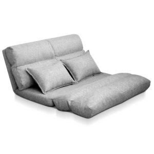 FLOOR SBL 200LIN S GY 00 300x300 - Artiss Lounge Sofa Bed Floor Recliner Chaise Folding Linen Farbric