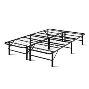 FOLD D DOUBLE BK 00 300x300 - Artiss Foldable Double Metal Bed Frame - Black