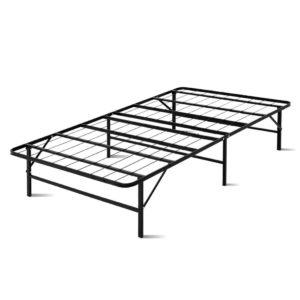 FOLD D KS BK 00 300x300 - Artiss Foldable King Single Metal Bed Frame - Black