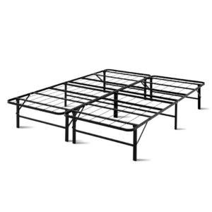 FOLD D QUEEN BK 00 300x300 - Artiss Foldable Queen Metal Bed Frame - Black