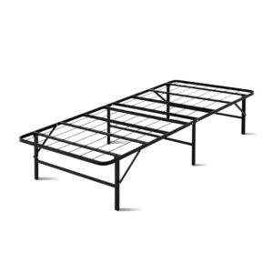 FOLD D SINGLE BK 00 300x300 - Artiss Foldable Single Metal Bed Frame - Black