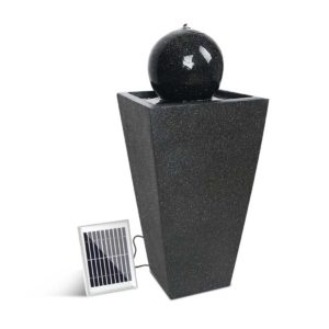 FOUNT BALL BK 00 300x300 - Gardeon Solar Powered Water Fountain - Black
