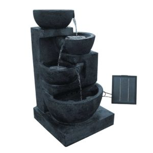 FOUNT BOWL BLUE 00 1 300x300 - Gardeon 4 Tier Solar Powered Water Fountain with Light - Blue