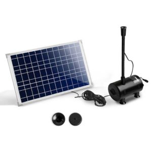 FOUNT POND 200 00 300x300 - Gardeon 1400L/H Submersible Fountain Pump with Solar Panel