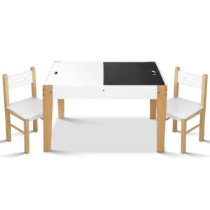 FUNKI HAY WH NT 00 300x300 - Artiss Kids Table and Chair Storage Desk - White & Natural