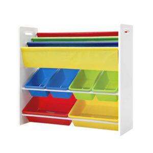 funki k to 3023 wh 00 300x300 - Artiss Kids Bookshelf Toy Storage Box Organizer Bookcase 3 Tiers
