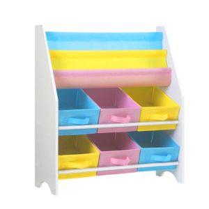 funki k to 3053 wh 00 300x300 - Artiss Kids Bookshelf Toy Storage Organizer Bookcase 2 Tiers