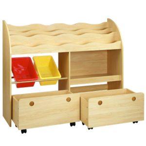 funki k to 3058 nt 00 300x300 - Artiss Kids Bookshelf Toy Bin Storage Box Children Organizer Bookcase 3 Tiers 2 Drawers