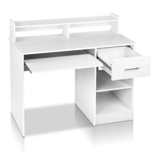 furni c desk juni wh ab 00 300x300 - Artiss Office Computer Desk with Storage - White