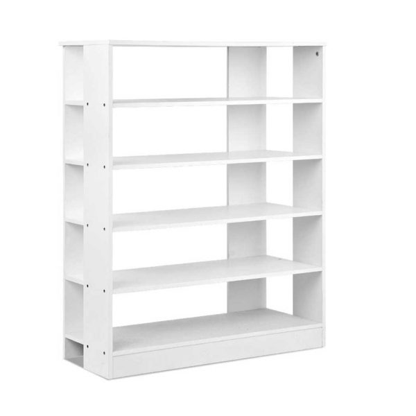 FURNI C SHOE R5 WH 00 600x600 - Artiss 6-Tier Shoe Rack Cabinet - White