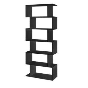 FURNI DIS 6T BK 00 300x300 - Artiss 6 Tier Display Shelf - Black