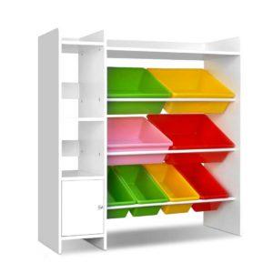 FURNI E TOY200 8BIN WH 00 300x300 - Artiss 8 Bin Toy Storage Shelf