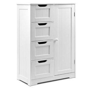 FURNI G BATH 5078 WH 00 300x300 - Artiss Bathroom Tallboy Storage Cabinet - White