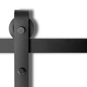 ga sdoor d 4m 00 300x300 - 4M Sliding Barn Door Hardware - Black