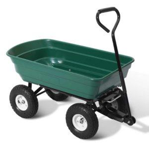 GCT DUMP 270KG GN 00 300x300 - Gardeon 75L Garden Dump Cart - Green