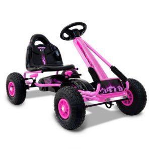 GKRT F1A PK 00 300x300 - RIGO Kids Pedal Go Kart Car Ride On Toys Racing Bike Pink