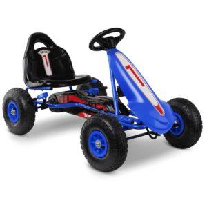 GKRT F1C BU 00 300x300 - RIGO Kids Pedal Go Kart Car Ride On Toys Racing Bike Blue