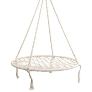 HM CHAIR NEST CREAM 00 300x300 - Keezi Kids Nest Swing Hammock Chair