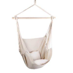 HM CHAIR PILLOW CREAM 00 300x300 - Gardeon Hammock Chair - Cream