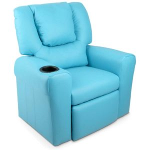 KID RECLINER BU 00 300x300 - Artiss Kids PU Leather Reclining Armchair - Blue