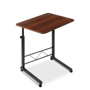LA DESK 60 DW 00 300x300 - Mobile Twin Laptop Desk - Dark Wood
